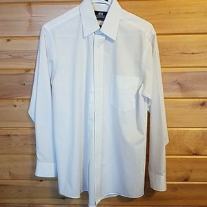 Wrinkle Free White Button Down Shirt